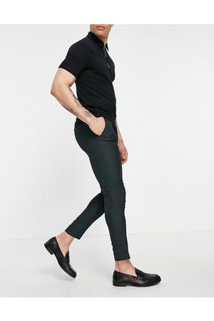 ASOS Super skinny elegante bukser med grå pin-prikker
