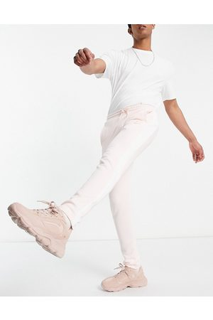 PUMA Summer Luxe T7 - Lyserøde joggingbukser