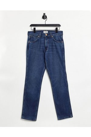 Wrangler Larston - Slim-jeans i blå