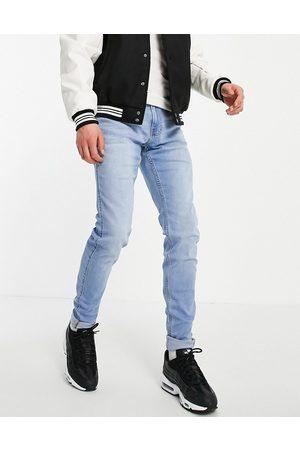 Hollister Jeans i lyseblå vask i super skinny fit