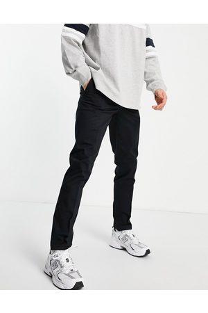 New Look Sorte skinny chinobukser