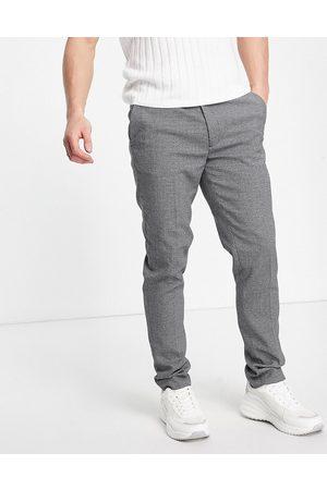 ASOS Elegante super skinny-bukser i grå mikrotekstur