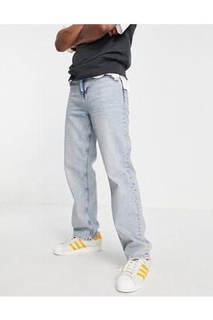 ASOS Afslappede jeans i lys vask