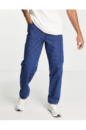 ASOS Baggy jeans i mid wash blue