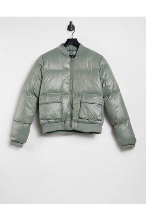 Threadbare Lacy - Bomber-jakke med glans