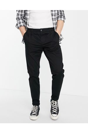 Only & Sons Sorte chinos i slim fit