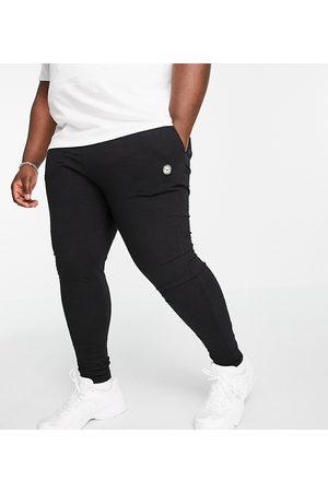 Le Breve Sorte lounge-joggingbukser med hvidt bånd - Del af sæt