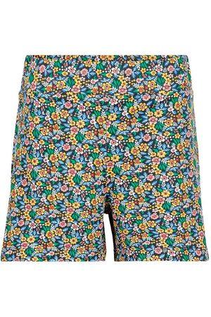 The New Blazere - Shorts - Ully - Navy Blazer m. Blomster