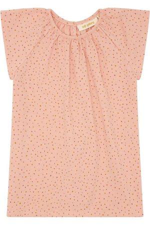 Soft Gallery Kortærmede - T-shirt - Olivia - Rose Cloud m. Prikker