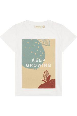 Soft Gallery T-shirt - Bass - Snow White m. Print