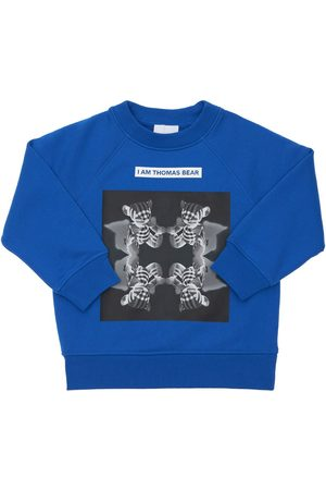 Burberry Drenge Sweatshirts - Printed Cotton Sweatshirt