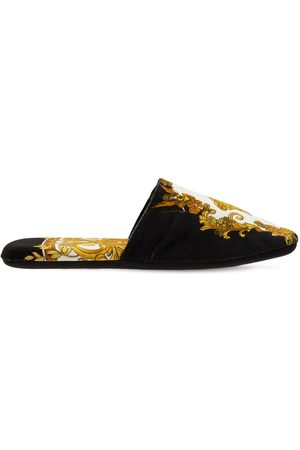 VERSACE Cotton Slippers