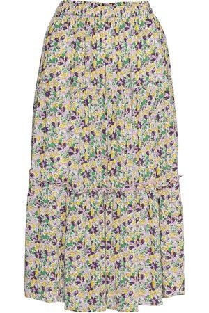 Lollys Laundry Morning Skirt Knælang Nederdel Multi/mønstret