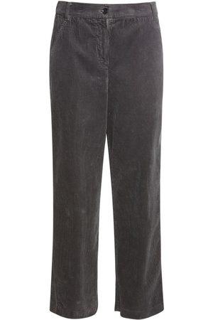Aspesi Kvinder Trekvartbukser - Cotton Corduroy Cropped Pants