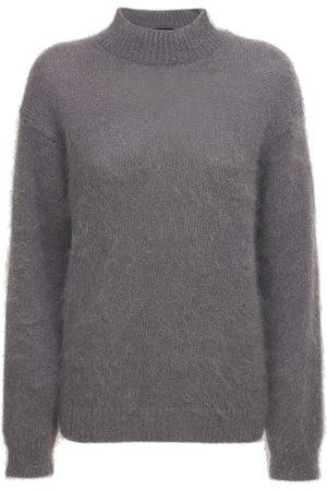 Tom Ford Kvinder Strik - Mohair Blend Knit Turtleneck Sweater