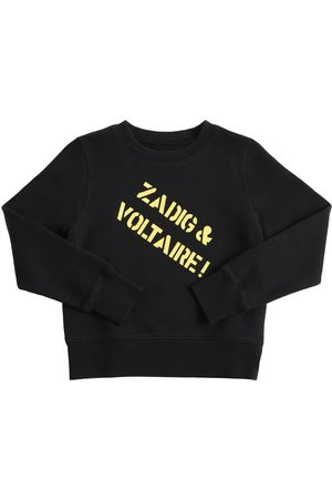 Zadig & Voltaire Logo Print Cotton Sweatshirt