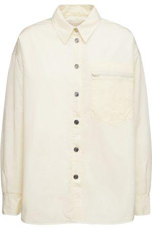 REMAIN Evy Oversize Padded Recycled Nylon Shirt