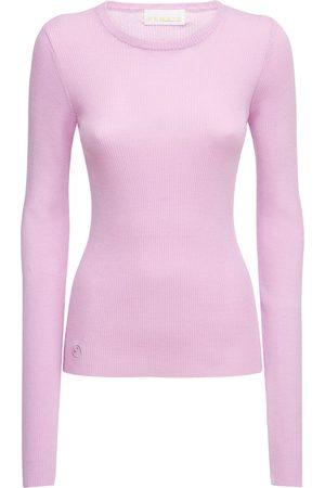 REMAIN Basel Open Back Viscose Blend Sweater