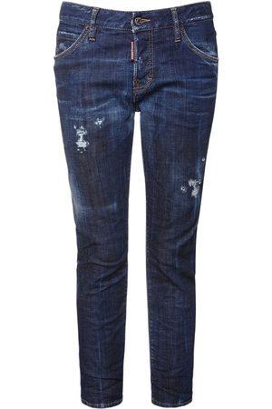Dsquared2 Cool Girl Straight Denim Jeans