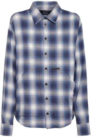 Dsquared2 Check Cotton Over Shirt