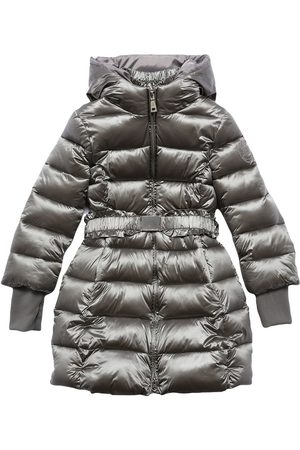 MONNALISA Piger Vinterjakker - Hooded Nylon Puffer Coat