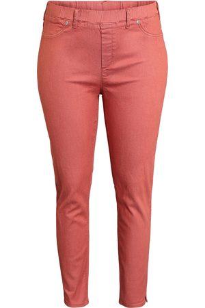 Ciso Kvinder Habitbukser - 7/8 bukser med stretch. Slim fit. - Cranberry - 42