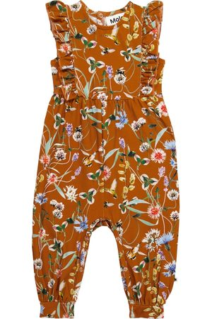 Molo Baby Fallon floral stretch-cotton onesie