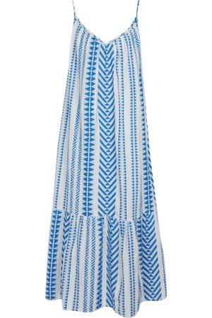 Velvet Diane cotton midi dress