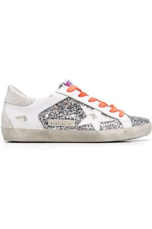 Golden Goose SNEAKERS WITH GLITTER
