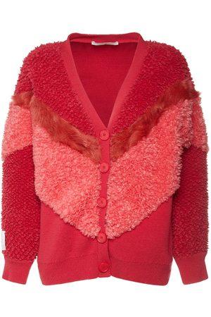 STELLA MCCARTNEY Kvinder Strik - Wool Knit Zip-up Cardigan