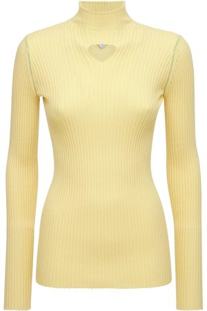 Bottega Veneta Wool Rib Knit Sweater