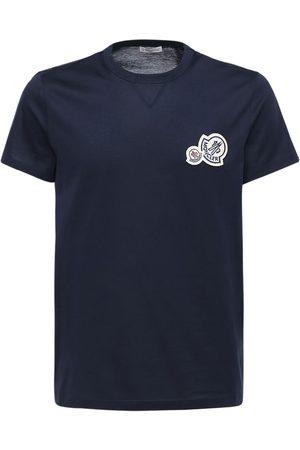Moncler Mænd Kortærmede - Cotton Jersey T-shirt