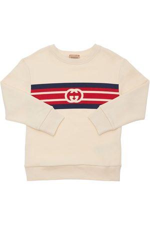 GUCCI Logo Cotton Sweatshirt