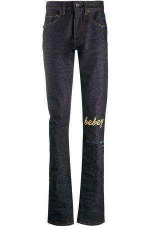 OFF-WHITE Mænd Slim - X Theophilus London bebey selvedge jeans
