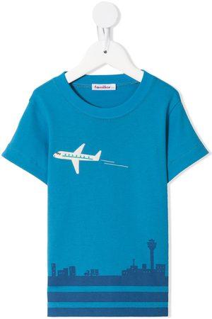 Familiar Drenge Kortærmede - Kortærmet T-shirt med tryk