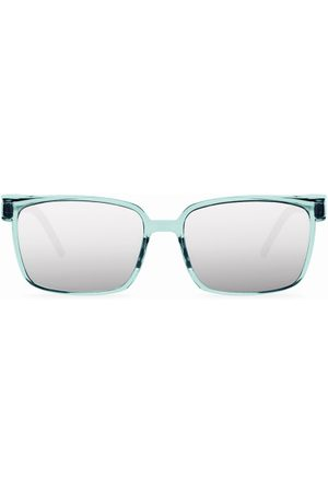 Cosee Mænd Solbriller - C-002 SENSES Silver Mirror Shield Polarized Solbriller
