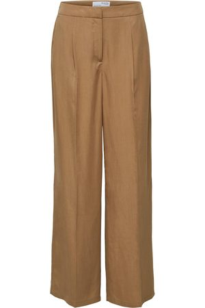 SELECTED Bukser med fals 'Tinni