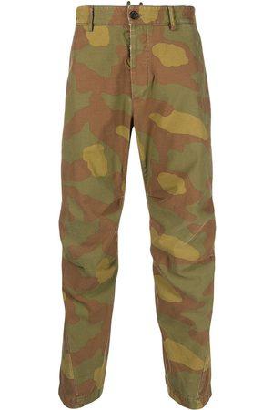 Dsquared2 Mænd Cargo bukser - Cargo-bukser med kamuflagemønster