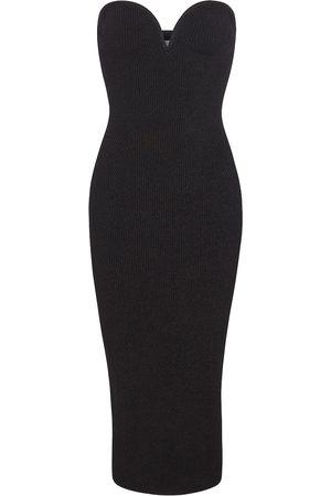 GALVAN Thalia bustier dress