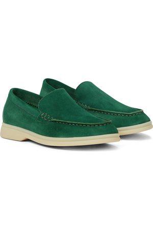 Loro Piana Summer Walk suede loafers