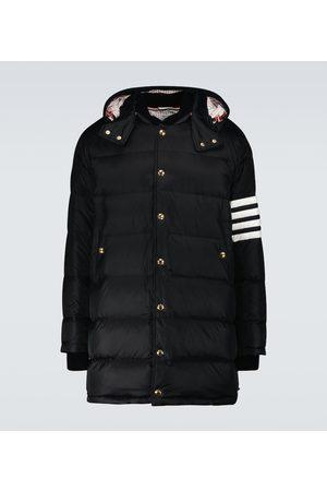 Thom Browne 4-Bar down-filled coat