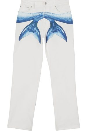Burberry Jeans med Mermaid Tail-print
