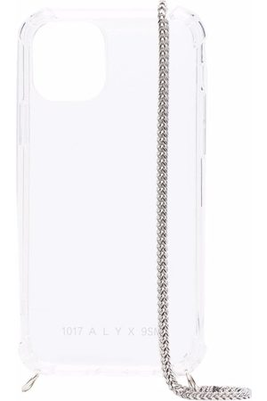 1017 ALYX 9SM Klar iPhone 12 cover med kædeled