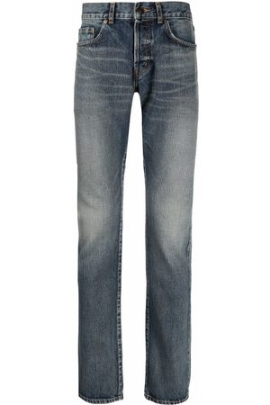 Saint Laurent Mænd Slim - Jeans med mellemhøj talje og smal pasform