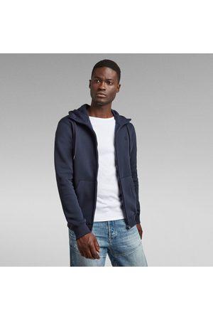 G-Star Mænd Hoodies - Men Premium Core Hooded Zip Sweater Dark blue