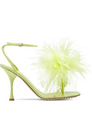 Bottega Veneta Kvinder Sandaler - 90mm Feather Dot Sandals