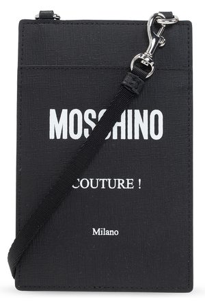 Moschino Document case with logo