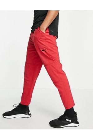 Puma Training - Røde bukser med ventilation