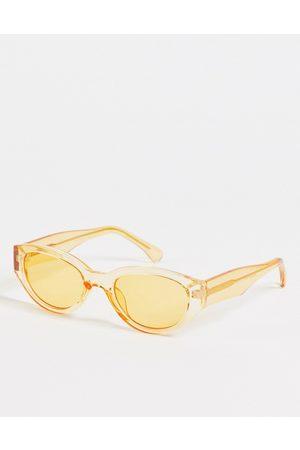 A. Kjærbede Winnie - Runde unisex-solbriller i i retro-stil