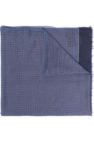 Gucci Letvægts-tørklæde med frynser